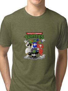 Mighty Morphin Turtles  Tri-blend T-Shirt