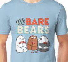 We bare Bears Cards Unisex T-Shirt