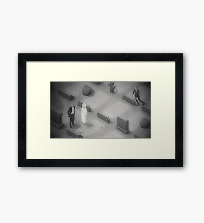 They're coming to get you Framed Print