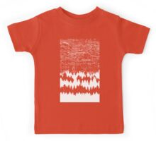 Map Silhouette Square Kids Tee