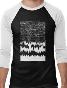 Map Silhouette Square Men's Baseball ¾ T-Shirt