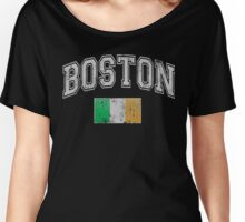 Boston Irish Flag Women's Relaxed Fit T-Shirt