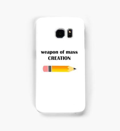 Weapon Of Mass Creation Samsung Galaxy Case/Skin