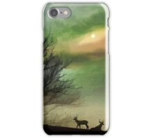 Alone On A Hill iPhone Case/Skin