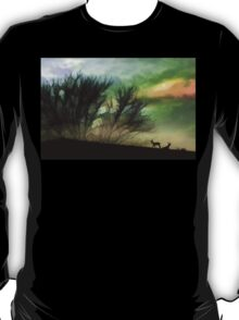 Alone On A Hill T-Shirt