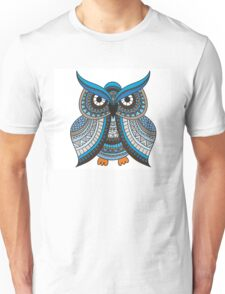ornate tattooed #owl Unisex T-Shirt