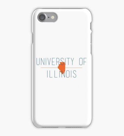 university of illinois iPhone Case/Skin