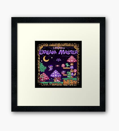 Master Dreamer Nemo Little Framed Print