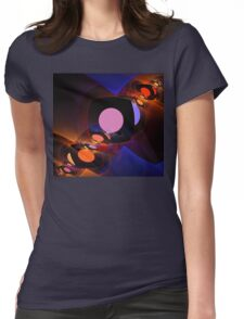 Mirror Sunsets Womens Fitted T-Shirt