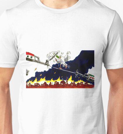 fragile peace Unisex T-Shirt