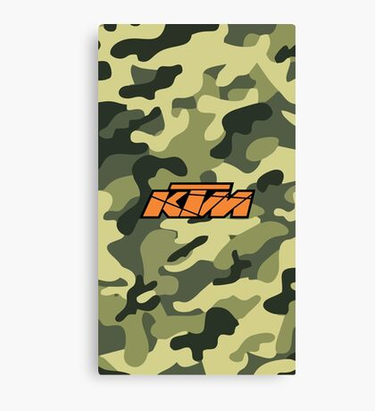 KTM Camouflage II Canvas Print