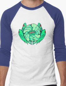 Sassy Seraphim Mint Men's Baseball ¾ T-Shirt
