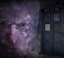 Steampunk Dr Who & Tardis by fantasytripp
