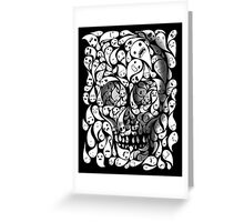 SKULL DOODLE Greeting Card