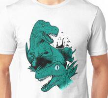 Dinosaur Blue Unisex T-Shirt