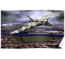 Vulcan Delta Wing Poster
