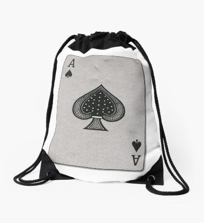 ACE OF SPADES Drawstring Bag