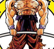 Goku's Gym - Train Insaiyan - Deadlift Sticker