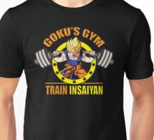 Goku's Gym - Train Insaiyan - Squat - Leg Day Unisex T-Shirt