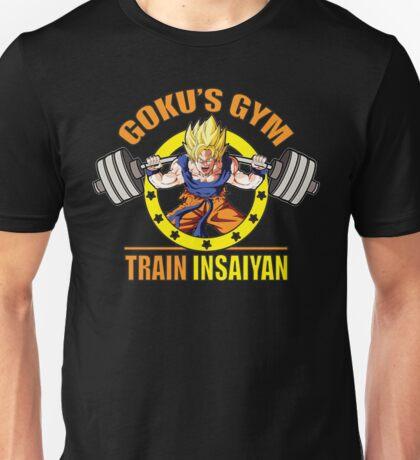 Goku's Gym - Train Insaiyan - Squat - Leg Day Unisex T-Shirt