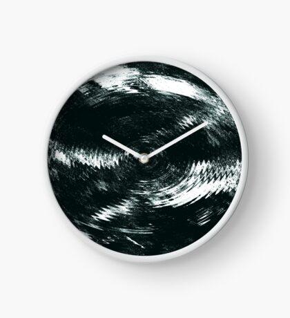 Drop Of Water. Circles. Clock