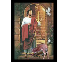 every knee shall bow-Philippians 2:9,10 Photographic Print