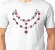 Two strand ruby necklace Unisex T-Shirt
