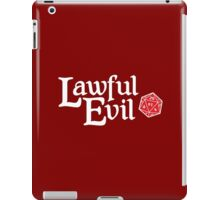 Lawful Evil iPad Case/Skin