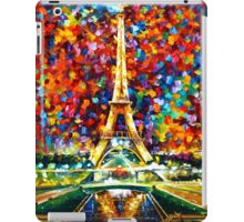 paris of my dreams - Leonid Afremov iPad Case/Skin