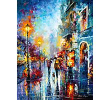 Melody of Passion - Leonid Afremov Photographic Print