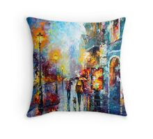 Melody of Passion - Leonid Afremov Throw Pillow