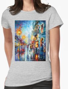 Melody of Passion - Leonid Afremov Womens Fitted T-Shirt
