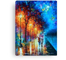 Love by The Lake - Leonid Afremov Canvas Print