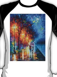 Love by The Lake - Leonid Afremov T-Shirt
