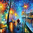 Melody Of The Night — Buy Now Link - http://goo.gl/n5ihpj by Leonid  Afremov