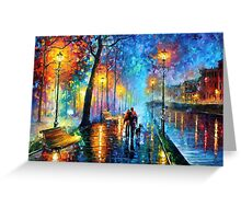 Melody Of The Night — Buy Now Link - http://goo.gl/n5ihpj Greeting Card