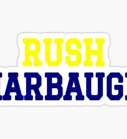 Rush Harbaugh Sticker