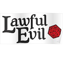 Lawful Evil Poster