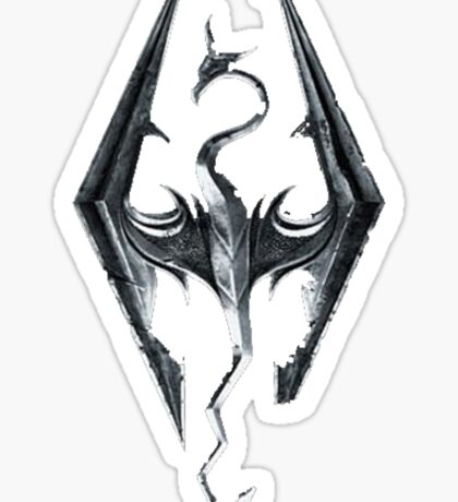 Skyrim V Elder Scrolls Sticker