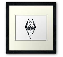 Skyrim V Elder Scrolls Framed Print