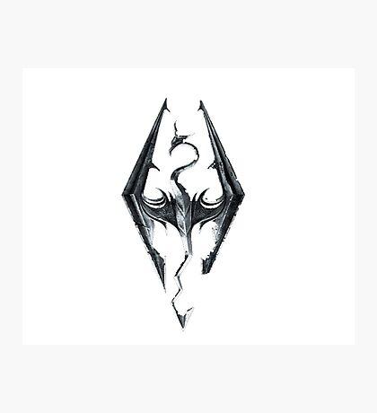 Skyrim V Elder Scrolls Photographic Print
