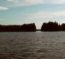 Placid Waters of Deer Lake Sticker