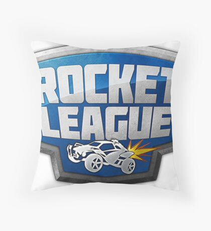 Rocket League Logo Throw Pillow