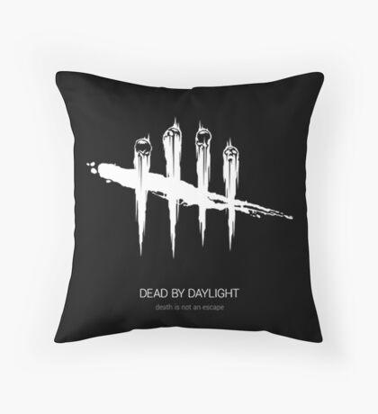 Dead by Daylight Logo Throw Pillow