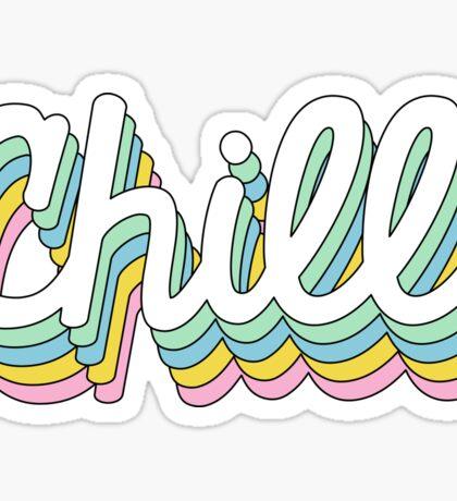 Retro Chill Sticker