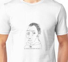 Self-portrait without beard-Van Gogh Unisex T-Shirt