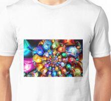 Shiny Jewel Spiral Unisex T-Shirt