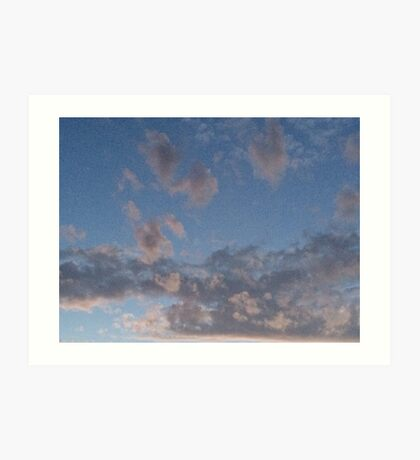 catching clouds Art Print