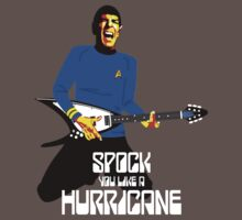 Spock You (White Font) One Piece - Short Sleeve