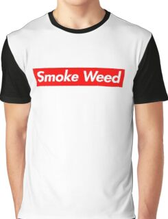 Smoke Weed Graphic T-Shirt